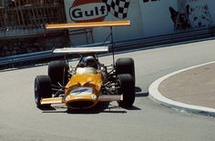 Bruce Leslie McLaren (NZ) (Bruce McLaren Motor Racing), McLaren M7C - Ford-Cosworth DFV 3.0 V8 (finished 5th) 1969 Monaco Grand Prix, Circuit de Monaco