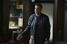 Pin for Later: This Season of Scandal Is Making Work Suits Look So Good Who can resist a man in a leather jacket?