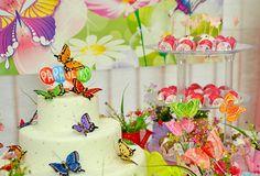 bolo festa borboletas