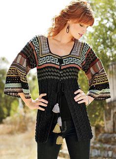 Irish crochet &: JACKET ....... ЖАКЕТ