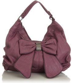 a9ea4b9af86d Image detail for -Purse Boutique  Purple Large   Maja Bow   Hobo Handbags
