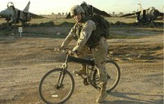 Tactical Mountain Bicycles: Smith And Wesson's Police Bike, and the Montague Paratrooper.