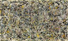 "Jackson Pollock. ""Autumn Rhythm"". New York School. Action painting. 1950."