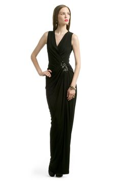 Galaxy Dust Gown by Robert Rodriguez Black Label for $80 | Rent The Runway