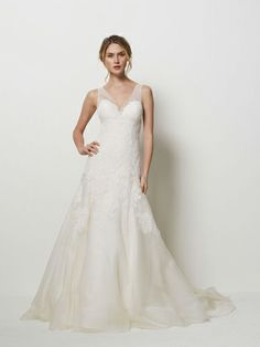 Shape Special: Pear-shaped brides - Wedding dresses - YouAndYourWedding looks light and airy enough for you.