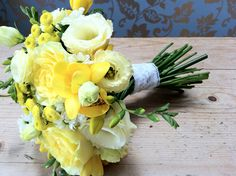 Flower School – Yellow Wedding Flowers with Campbell's Flowers