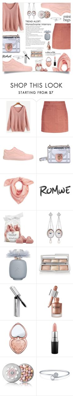 """monochrome sweet"" by ztugceuslu ❤ liked on Polyvore featuring Vans, Christian Dior, Madewell, Axenoff Jewellery, Hourglass Cosmetics, Bobbi Brown Cosmetics, Too Faced Cosmetics, MAC Cosmetics and Guerlain"
