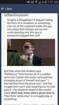 What if a Muggleborn Supernatural fan went to Hogwarts? Harry Potter Fandom, Harry Potter Memes, Hogwarts, Fandom Crossover, Supernatural Memes, Dc Memes, Never Stop Dreaming, Pokemon, Comic