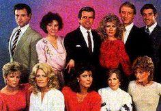 Knots Landing, night time soap opera