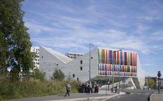 Молодежный центр от JDS architects в Лилле, Франция.