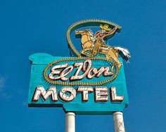 El Don Motel on Historic Route 66This is a Fine Art photo of the 'EL DON MOTEL' neon sign is in Albuquerque, New Mexico. During the hey day of travel along the Mother Road, Route 66, the El Don Motel was a key place to stop for the night while traveling through New Mexico. Fortunately, through the years, the different owners of the El Don realized how important the up keep of the priceless neon sign was, so each new owner has done their part, leaving an incredible legacy of the 1950s when…