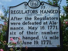 Regulators Hanged - After the Regulators were defeated at Alamance, May six of their number were hanged, mile east. Diana Gabaldon Outlander Series, Outlander Book, Outlander Season 4, Drums Of Autumn, The Fiery Cross, The Settlers, Time Travel, American History, Scotland