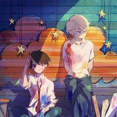 Inaho & Slaine | Aldnoah.Zero