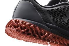 Using Autodesk Within, Under Armour designers were able to generate interlocking lattice structures capable of providing both bounce and support. (Image courtesy of Autodesk.)