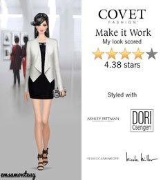 Make it Work @covetfashion  #covetfashion #covet #fashion  #AshleyPittman #RebeccaMinkoff #NicoleMiller #DoriCsengeri