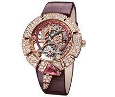 Bulgari Serpenti Incantati Tourbillon Squelette or rose Bvlgari Gold, Bvlgari Serpenti, Datejust Rolex, Bvlgari Watches, Luxury Watches, Bulgari Jewelry, Tourbillon Watch, Skeleton Watches, Expensive Watches