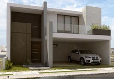 Fachadas de casas modernas de dos pisos - Blog de decoración