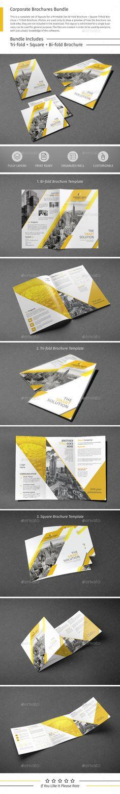 Brochure Template PSD Bundle. Download here: http://graphicriver.net/item/brochure-bundle-07/15519556?ref=ksioks