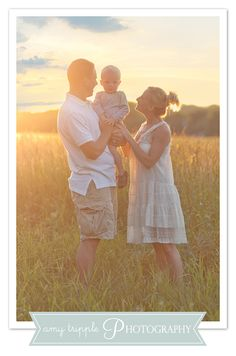 Family photo ideas, backlighting