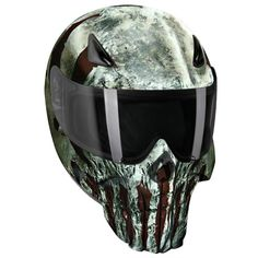 punisher modular motorcycle helmet 3