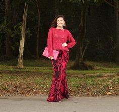 Look monocromático | Total rosa e versátil para o frio