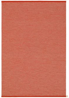 Kasthall Ingrid Woven Wool Rug Color: Red White
