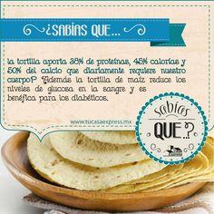 La tortilla tiene más beneficios de los que creías.