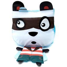 Mochila con cabeza de panda azul Infantil niño kiabi