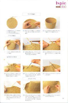 Natural Crochet --- 钩编包包 帽子 - 紫苏 - 紫苏的博客