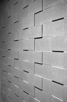 SE Skyline Ball Field Pavilion by reach architects Concrete Block Walls, Cinder Block Walls, Concrete Facade, Cement Walls, Brick Facade, Concrete Wall, Facade Design, Fence Design, Wall Design