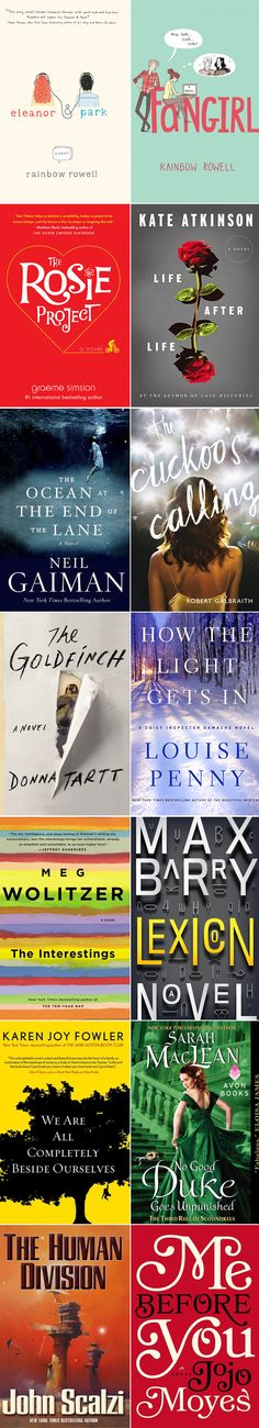 Favorites from Librarians -- check out the #libfaves13 tag on Twitter for more. #bestbooks #books