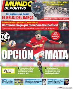 Portada Mundo Deportivo 14/02/2015