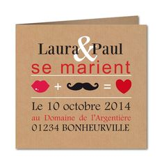 http://www.planet-cards.com/faire-part-mariage-addition-moustache-et-kraft.html