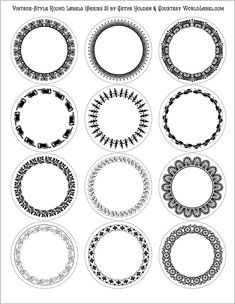 1000 images about round labels and round label template printables on pinterest round labels. Black Bedroom Furniture Sets. Home Design Ideas