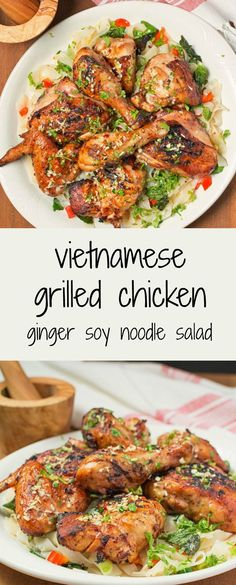 Bust out of your grilling funk with Vietnamese grilled chicken.
