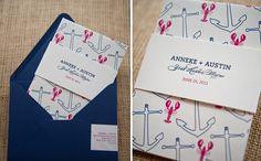Gus  Ruby Letterpress: Custom Work: Anneke and Austin