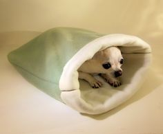Emmy would love this! - MEDIUM  Custom Double Layer Fleece Burrow Bag  by napetdepartment, $28.95