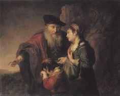 The Expulsion of Hagar - Govaert Flinck Agar, Rembrandt, Drawing Artist, Painting & Drawing, Amsterdam, Story Of Abraham, Berlin, Dutch Golden Age, Peter Paul Rubens