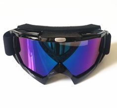 New Outdoor Sports Anti-UV Windproof Adult Motocross Dirt Bike Glasses Motorcycle Cross-Country Ski Snowboard Goggles T815-7