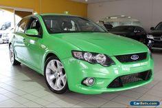 2009 Ford Falcon FG XR6 Turbo Green Manual M Sedan #ford #falcon #forsale #australia