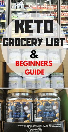 Keto Shopping List from 7-Day Meal Plan - Get all your groceries for the week using this whole ...