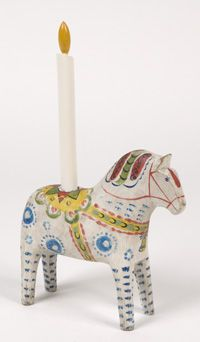 Collector's horse 11. Bella - candle horse
