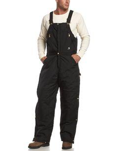 Carhartt Men's Yukon AQL Zip To Waist Bib Overalls, Black, 48 x 34