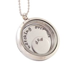 Glass Memory Locket Floating Charm Locket  by deepexpressions, $46.00