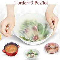 Item specification: Sku:BBC-112 Multifunctional Silicone Food Seal Cling Film Vacuum Keep Food Fresh