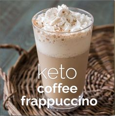 A low carb, Keto Coffee Frappuccino just like Starbucks with less than 2 carbs! The perfect low carb Starbucks knockoff! A low carb, Keto Coffee Frappuccino just like Starbucks with less than 2 carbs! The perfect low carb Starbucks knockoff! Low Carb Drinks, Healthy Drinks, Café Frappuccino, Vanilla Coffee Frappuccino Recipe, Starbucks Iced Mocha Recipe, Starbucks Coffee, Pancakes Protein, Cetogenic Diet, Protein Dinner