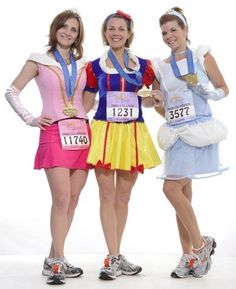 run in the Disney Princess half marathon replace Snow White with Ariel and add Belle, you've got Team Alicia!