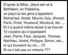 Humour - Jésus Christ et ses apôtres...