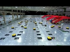 An amazing site of artificial intelligence logistics robots sorting hundreds of items per hour. Learn Robotics, Sorting, Robots, Army, Playstation, Xbox, Intelligence Quotes, Futurism, Artificial Intelligence