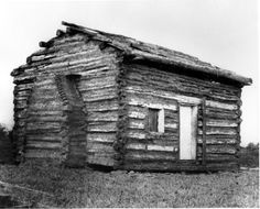 The Thomas Lincoln family built this simple cabin upon their arrival in Illinois in 1830. Like so many other Americans, the Lincolns decided to migrate westward after facing poor prospects in southern Indiana. They found their way to central Illinois, near Decatur. The twenty-one year old Abraham resented his father's demands that he work the family farm without compensation, and soon left home for the young village of New Salem, Illinois.